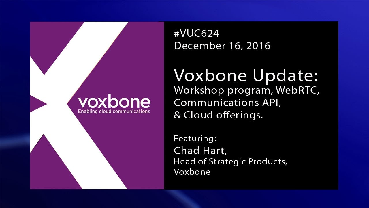 VUC: Voxbone and WebRTC