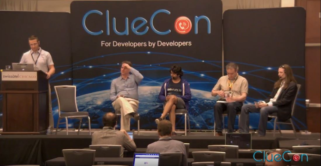 ClueCon 2018: AI Roundtable Moderated by Chad Hart
