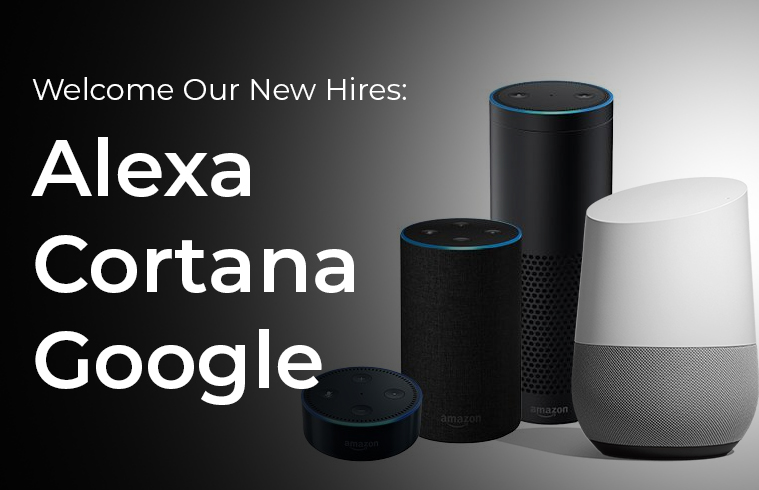 No Jitter: Welcome Our New Hires: Alexa, Cortana, Google