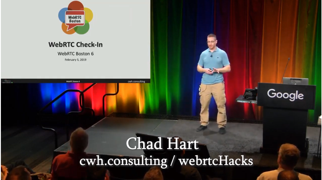 WebRTC Boston: Checking in on WebRTC