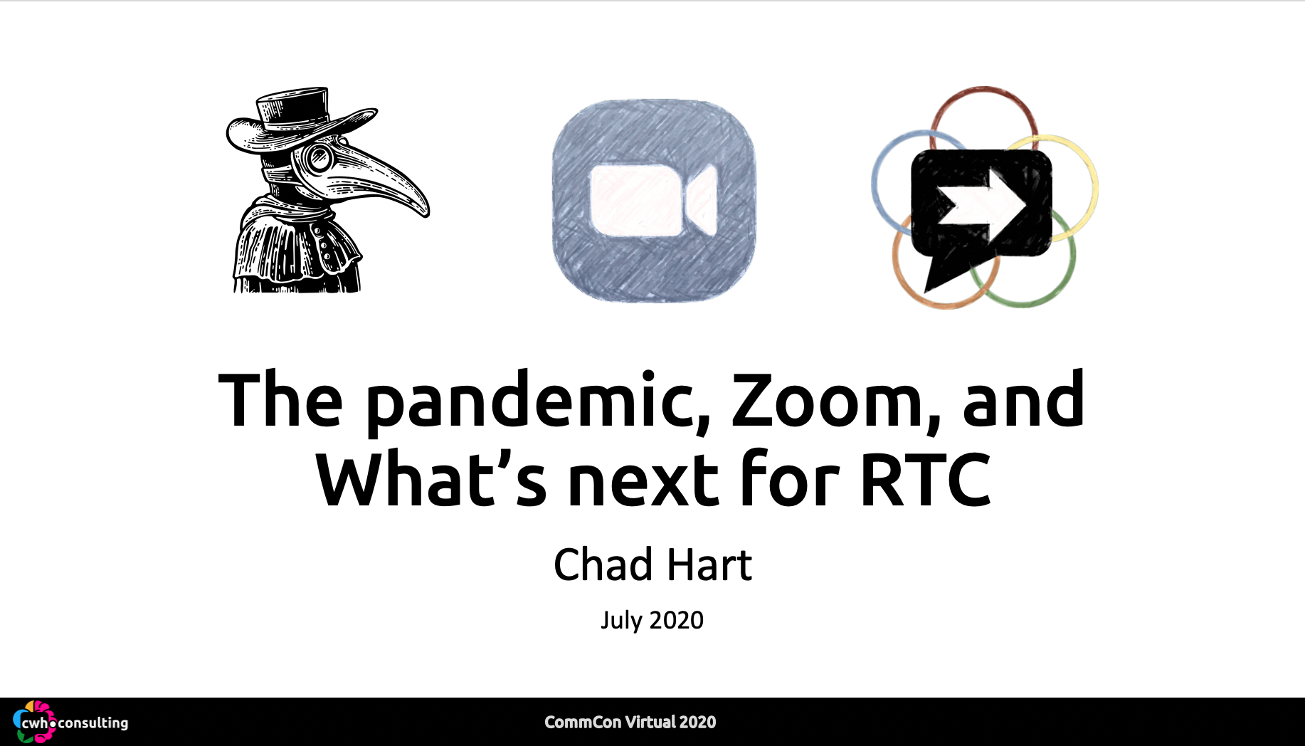 CommCon: The pandemic, Zoom, and What's next for RTC