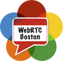 WebRTC Boston logo
