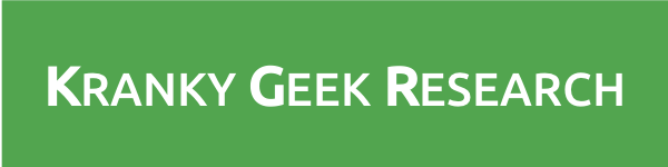 kranky geek research logo